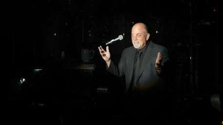 At the Paramount in Huntington, Billy Joel performs