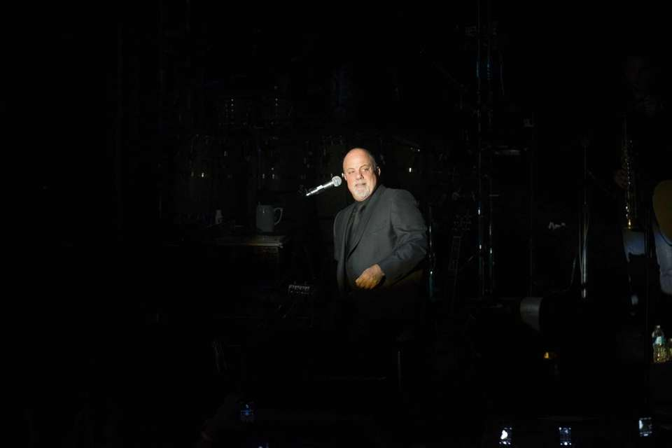 Billy Joel performs at the Paramount in Huntington