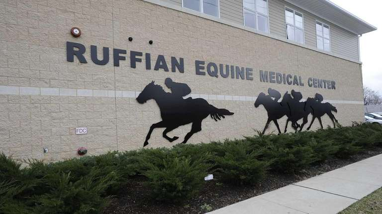The Ruffian Equine Medical Center in Elmont is