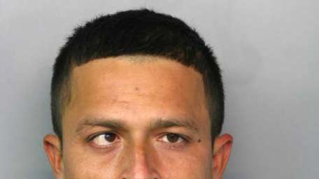 Edwin A. Bonilla, 30, was arrested about 7:15