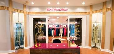 Rent the Runway, the online designer dress and