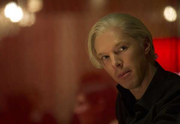 Benedict Cumberbatch as WikiLeaks founder Julian Assange in
