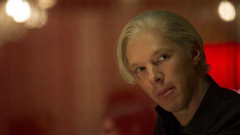 Benedict Cumberbatch as WikiLeaks founder Julian Assange in