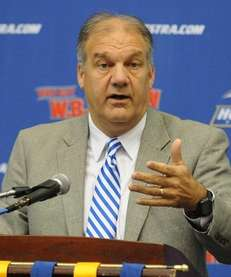 Hofstra University men's basketball head coach Joe Mihalich