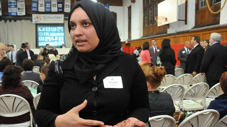 Siddiqa Majidi, a guidance counselor at Crescent School
