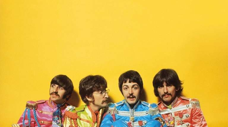 One of the rare outtakes of The Beatles