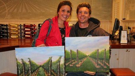 Alana and Evan Philcox of Wading River on