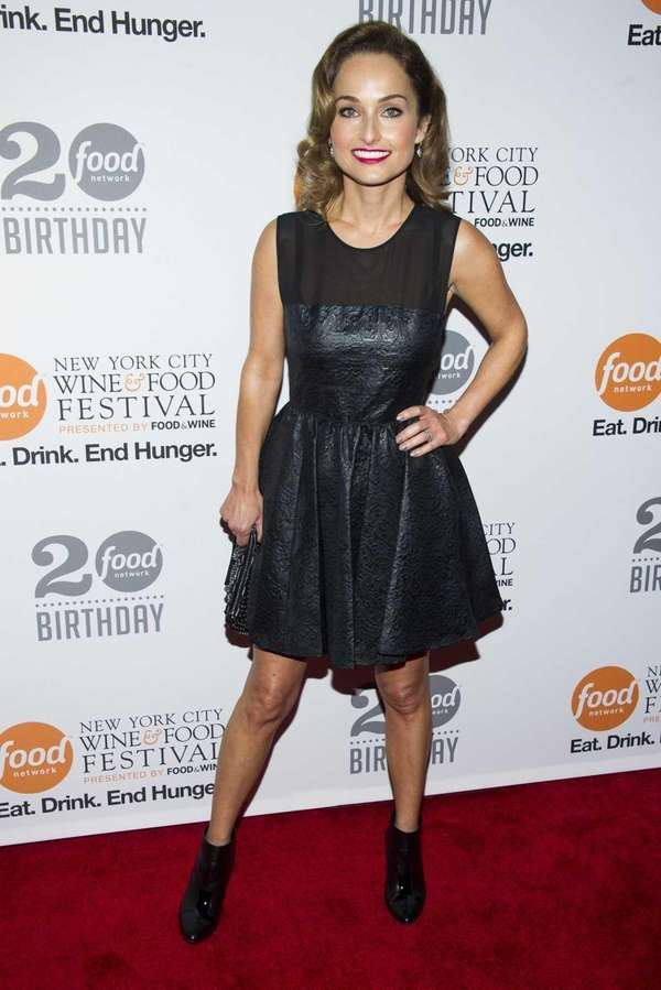 Giada De Laurentiis attends the Food Network's 20th