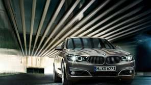 The 2014 BMW 3-Series Gran Turismo is pictured.