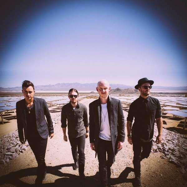 Members of The Fray, from left: Joe King,