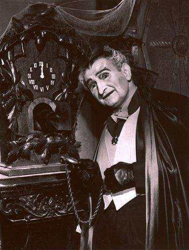 Al Lewis in character as Grandpa Munster from
