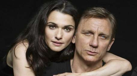 Real-life couple Rachel Weisz and Daniel Craig in