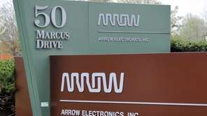An image of the sign at Arrow Electronics