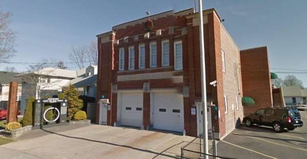 An exterior image of the Merrick Fire Department