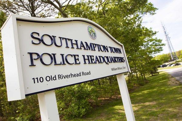 Southampton Town Police Department headquarters in Hampton Bays