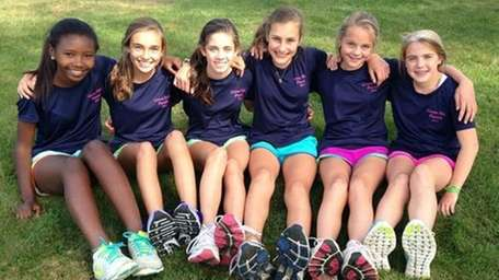 The 8th-grade girls of The Green Vale School's