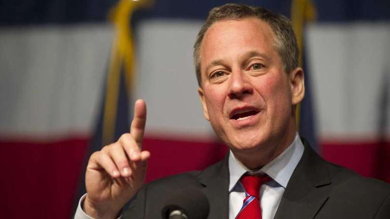 New York Attorney General Eric Schneiderman shown in