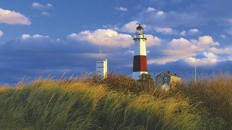 The Montauk Point Lighthouse.