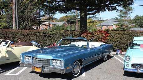 A 1972 Cadillac El Dorado convertible owned by