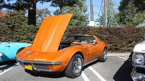 A 1972 Chevrolet Corvette Stingray owned by Nick