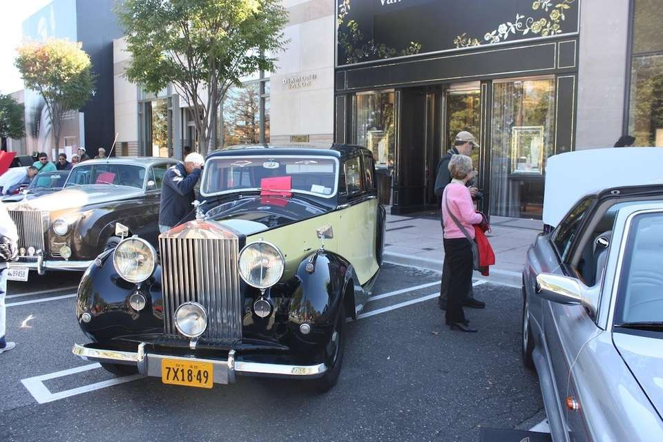 A 1948 Rolls Royce Silver Wraith owned by