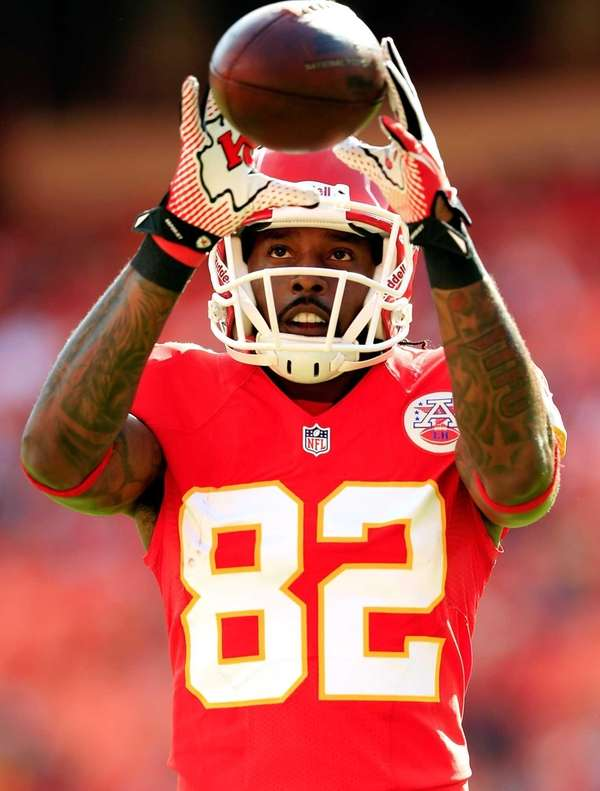 Wide receiver Dwayne Bowe of the Kansas City