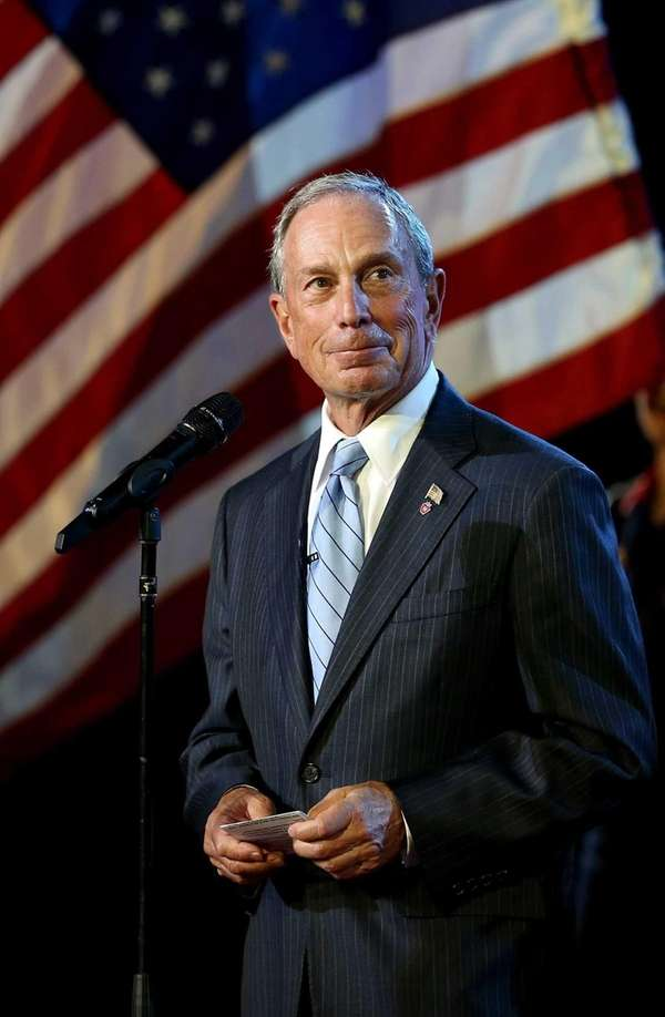 New York City Mayor Michael Bloomberg. (Aug. 26,