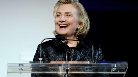 Hillary Rodham Clinton, recipient of the Michael
