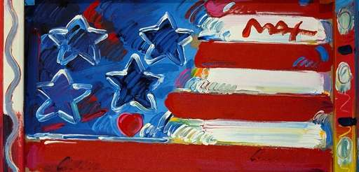 A Peter Max exhibition opens at the Nassau