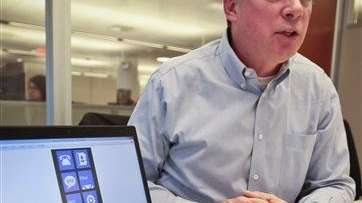 Greg Sullivan, director for Microsoft Windows phone, speaks