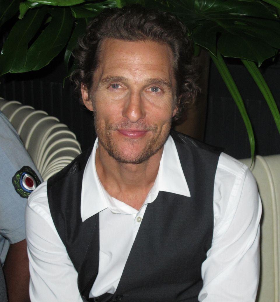 Nov. 4: Matthew McConaughey