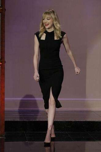 Actress Emma Stone, born on Nov. 6, 1988.