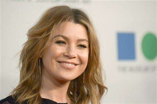 Actress Ellen Pompeo, born on Nov. 10, 1969.