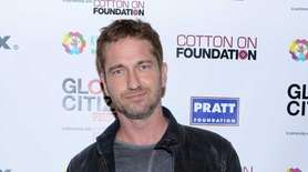 Actor Gerard Butler, born on Nov. 13, 1969.