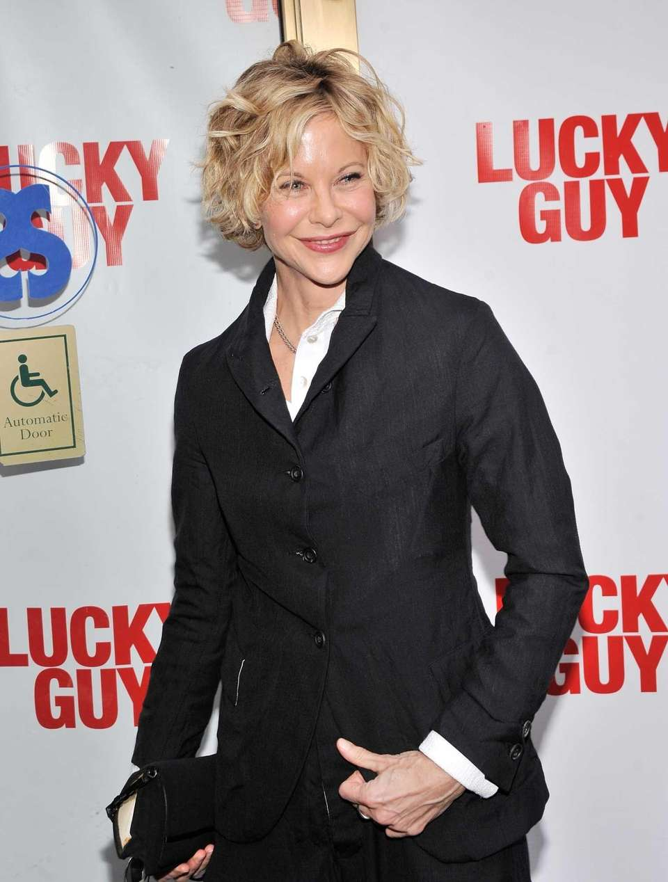 Actress Meg Ryan, born on Nov. 19, 1961.