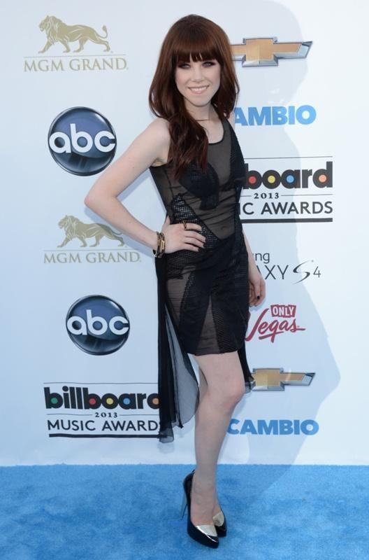 Singer Carly Rae Jepsen, born on Nov. 21,