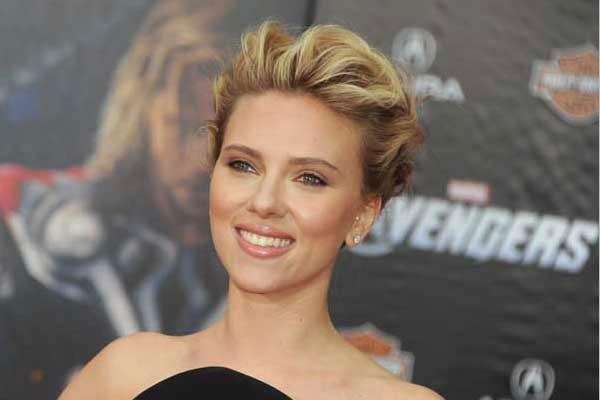 Actress Scarlett Johansson, born on Nov. 22, 1984.