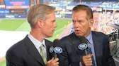 Joe Buck, left, and Tim McCarver in the
