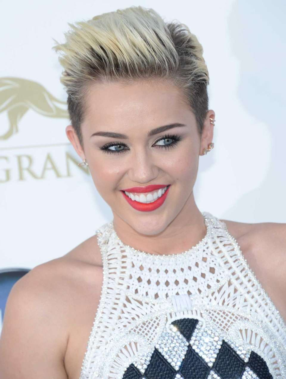 Singer Miley Cyrus, born on Nov. 23, 1992.