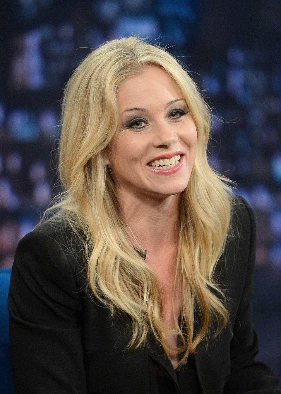 Actress Christina Applegate, born on Nov. 25, 1971.
