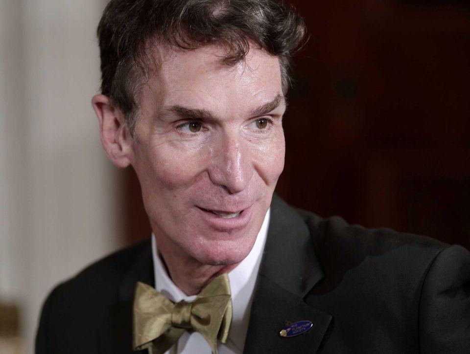 CEO of The Planetary Society, Bill Nye, born