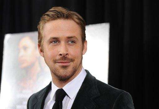Actor Ryan Gosling, born on Nov. 12, 1980.