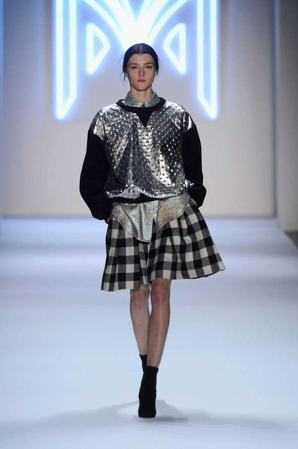 A look from the Milly fall 2013 collection