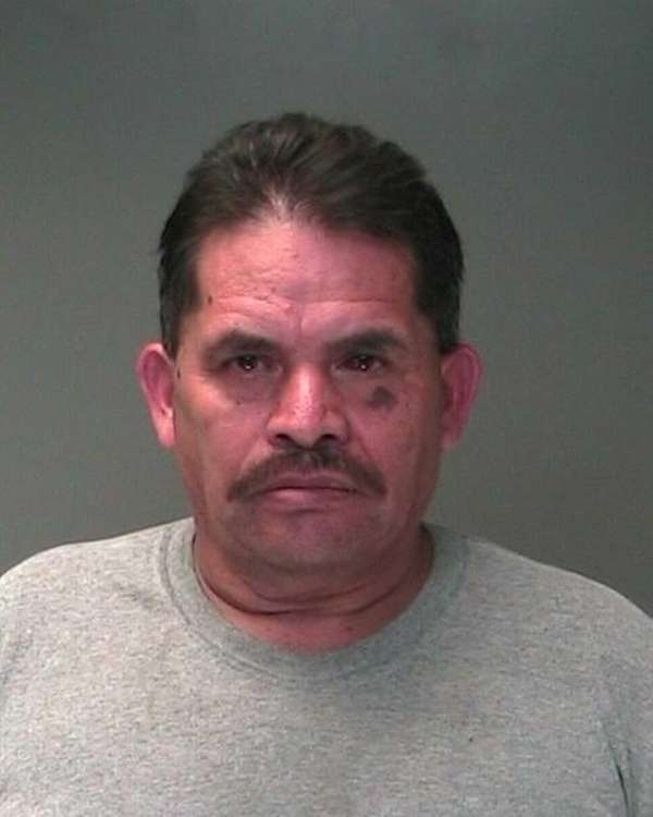 Juan Maravilla. 57, of Wyandanch, was arrested and