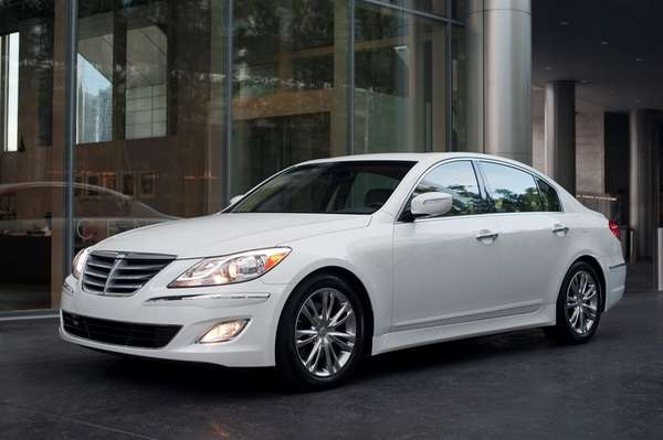 Hyundai recalled 27,500 Genesis sedans from the 2009