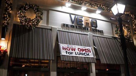 Vero restaurant at 192 Broadway in Amityville. (Dec.