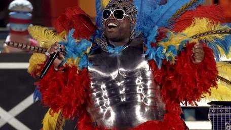 Cee Lo Green performs at the 53rd annual