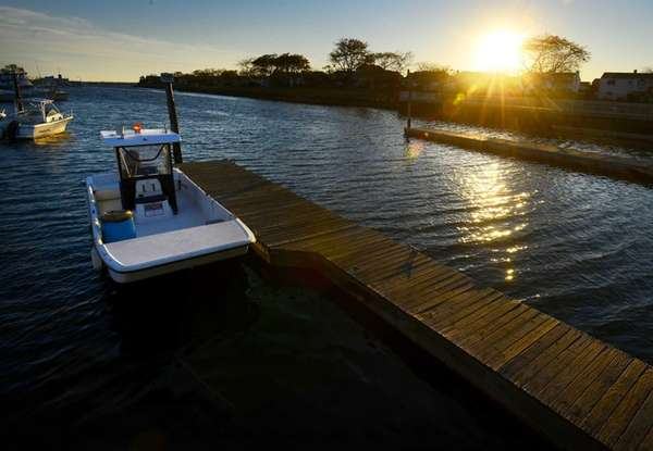 A photo of the Marina in Wantagh Park.