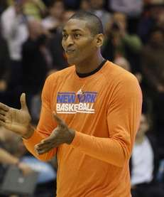 New York Knicks small forward Metta World Peace