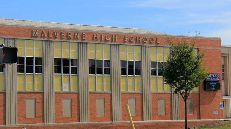 Malverne High School in Malverne